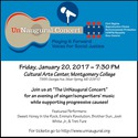 UnNaugural Concert  Playing it Forward  Voices for Social Justice