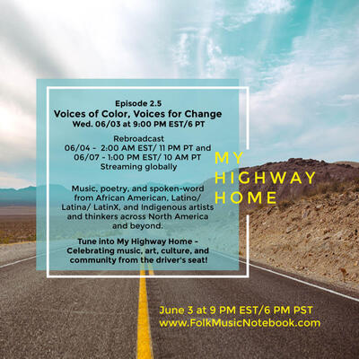 My Highway Home  Voices of Color Voices for Change