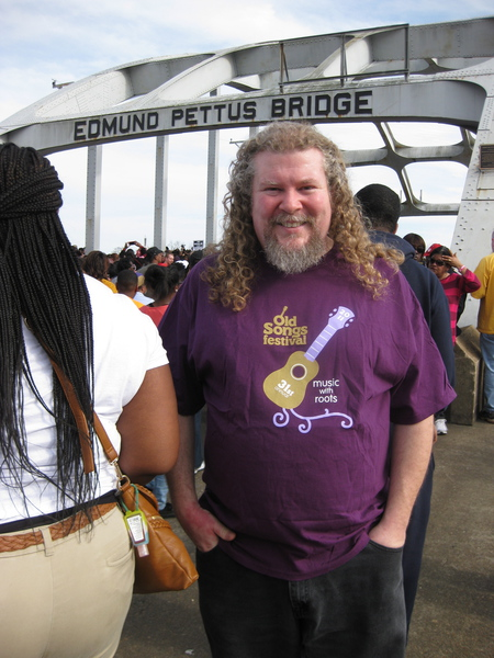 Joe on the Edmund Pettus Bridge