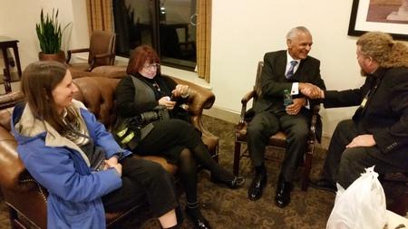 Joe amp Lynn with Dr CT Vivian in Birmingham